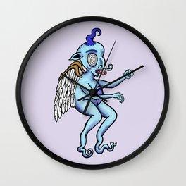 Alien Angel Wall Clock