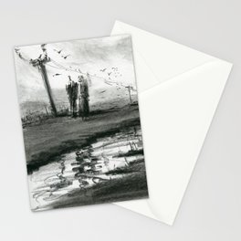 Ink and Carbon Pencil Stationery Cards