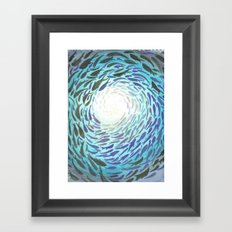 Shoal Framed Art Print
