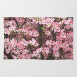 Pink Dogwoods Rug