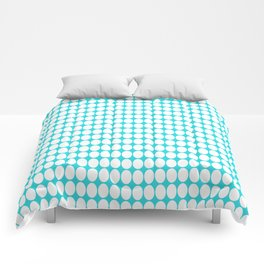 vanille bluey green Comforters