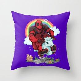 MAXIMUM EFFORT Throw Pillow