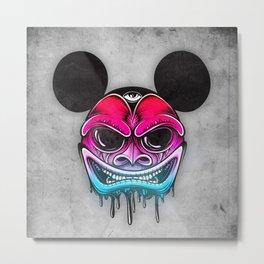 Evil Mickey Metal Print