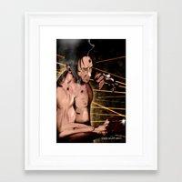 lil bub Framed Art Prints featuring Bub by bobwulff
