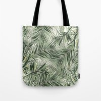 palms Tote Bags featuring palms by .eg.
