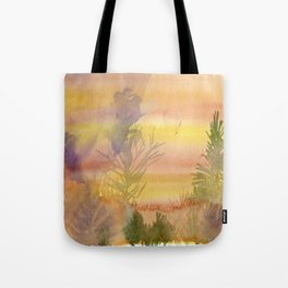 Desert Abstract Tote Bag