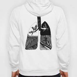 Particle Filtration - Lungs - Respiratory System Hoody