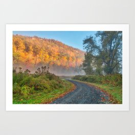 Misty Autumn McDade Trail Art Print