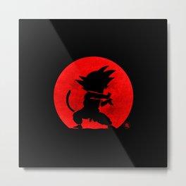 Little Hero Metal Print