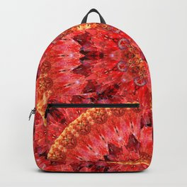 Crystal Fire Mandala Backpack