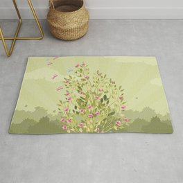 Just One flower Rug