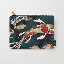 Metallic Koi Carry-All Pouch