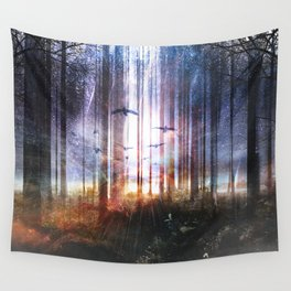 Absinthe forest Wall Tapestry