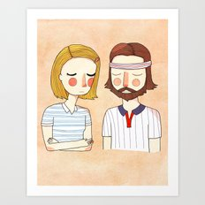 Secretly In Love Art Print