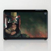 ed sheeran iPad Cases featuring Dredd[ed] by Mel Hampson