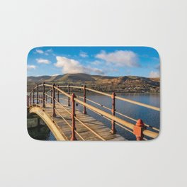 Padarn Lake Footbridge Bath Mat