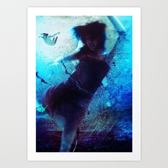Haunted Waters Art Print