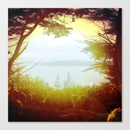 Pray for the Bay Canvas Print