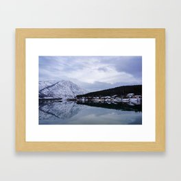 Reflective Contrast Framed Art Print