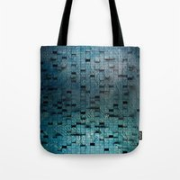 grid Tote Bags featuring Grid by Tayler Smith