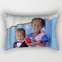 Overdressed In Zanzibar Rectangular Pillow