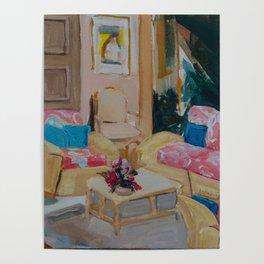 Golden Girls living room Poster