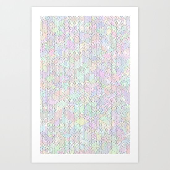 Panelscape - #9 society6 custom generation Art Print