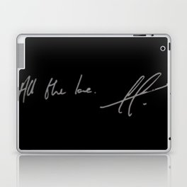 All the love. Laptop & iPad Skin