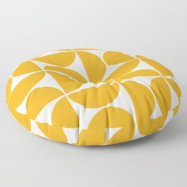 Modern Geometric Seamless Pattern Mid Century Floor Pillow