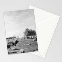 Otto Carl Bentzon Haslund - Cows in a Field Stationery Cards