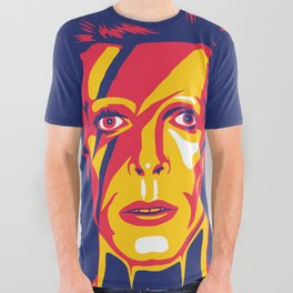 Bowie All Over Graphic Tee