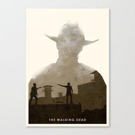 The Walking Dead (II) Canvas Print