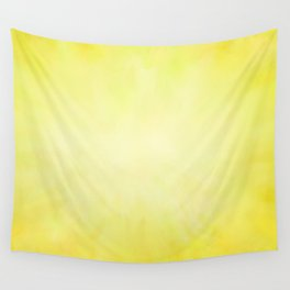 Sunny Yellow Wash of Color Wall Tapestry