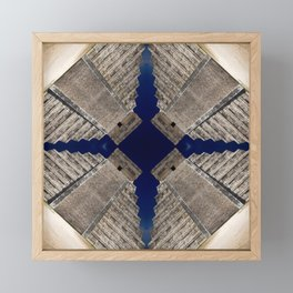 Chichen Itza Pyramid, Mexico Framed Mini Art Print