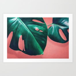 MONSTERA #2 Art Print