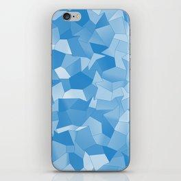 Geometric Shapes Fragments Pattern wb iPhone Skin