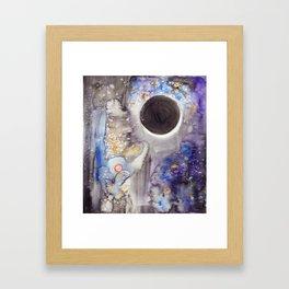 Super Moon Lunar Eclipse Framed Art Print