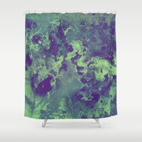 chemistry Shower Curtains featuring Chemistry by Adaralbion