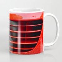 ferrari Mugs featuring Ferrari Testarossa by Rainer Steinke