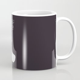 Moby Dick, Herman Melville, minimal book cover, classic novel, the whale, sea adventures Coffee Mug