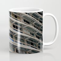 building Mugs featuring Building by anacaprini