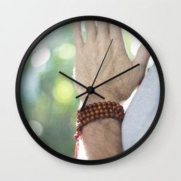 Hands of Prayer, Bali Wall Clock