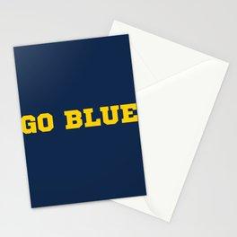 Go Blue Stationery Cards