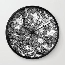 Lichen Layout Wall Clock