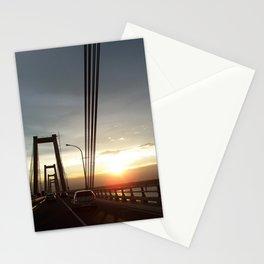 The Lake Maracaibo Bridge - II Stationery Cards