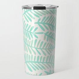 Fronds – Mint Green Palette Travel Mug
