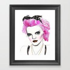 Ally Framed Art Print