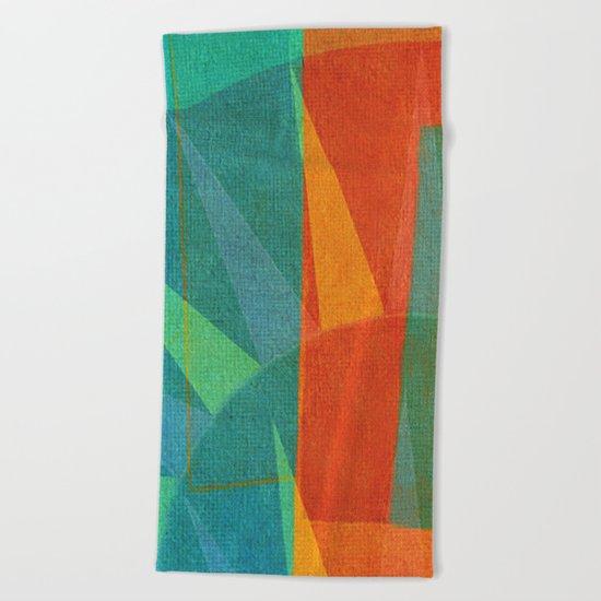 Una Allegri Domenica  Beach Towel