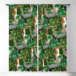 Catnip Garden Blackout Curtain