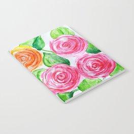 lollipop roses Notebook